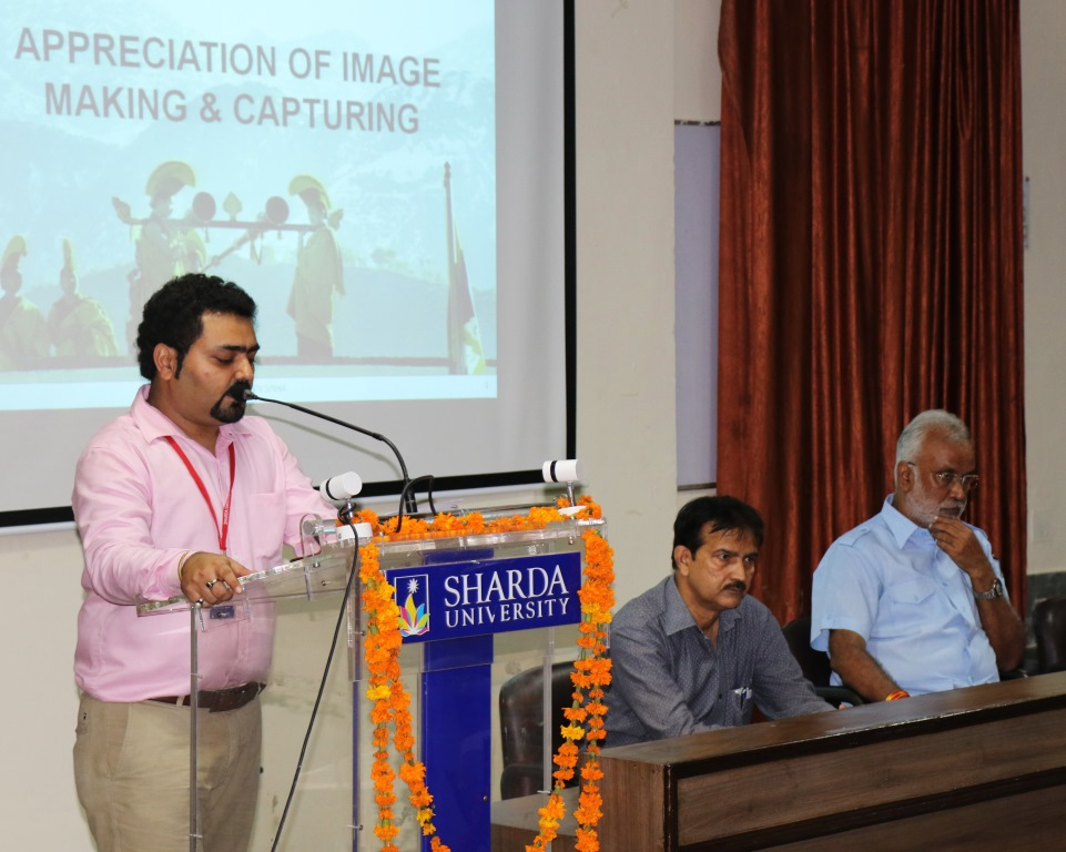 Guest Lecture by S N Sinha  Dept of Mass Communication