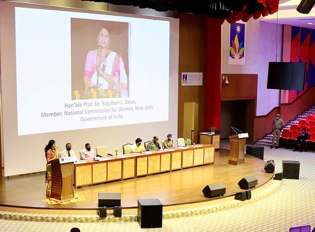 """National Commission for Women, New Delhi Government of India"""" """"Women in Leadership: Achieving an equal future in a COVID-19 World"""""""