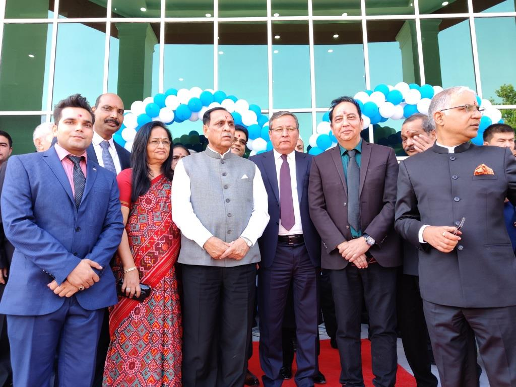 Inauguration ceremony of Sharda University Campus