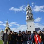 Management Students on Cross Continental Voyage
