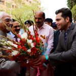 When Panjandrum Met Young Guns – Mohammad Hamid Ansari's Visit at Sharda University