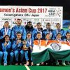 Indian Women's Hockey Team Lifts Asia Cup by Clinching Victory Over China