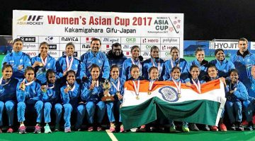 Indian Women Hockey Team Lifts Asia Cup by Clinching Victory Over China